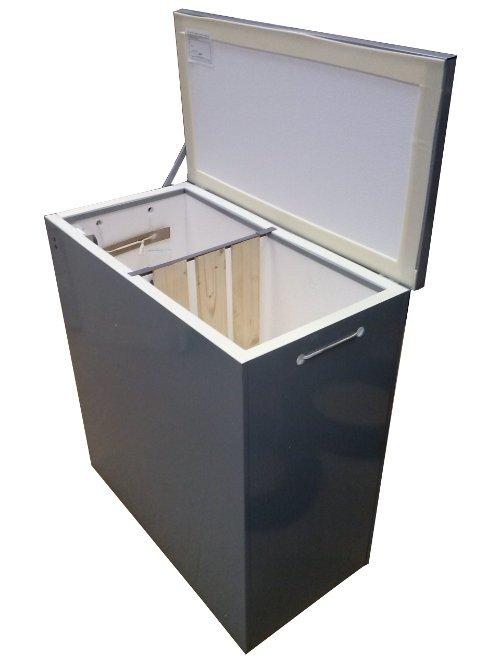 Термошкаф балконный погребок 3 с вентиляцией и перегородкой .